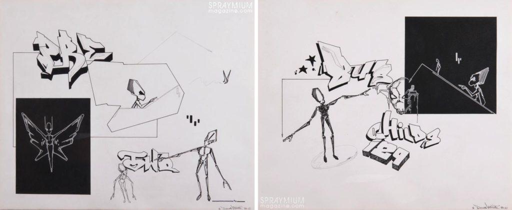 spraymium graffiti sketch sketches sketchs style writing blackbook subwayart aerosolart spraycanart dondi