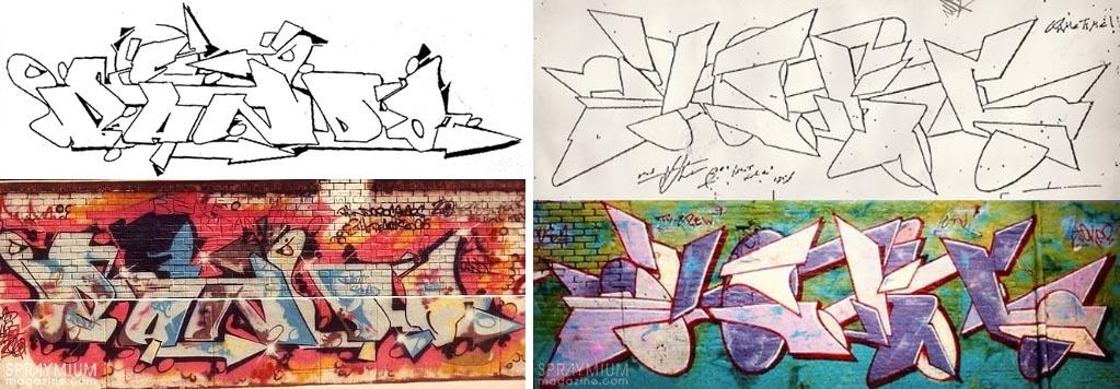 spraymium graffiti sketch sketches sketchs style writing blackbook subwayart aerosolart spraycanart bando joker