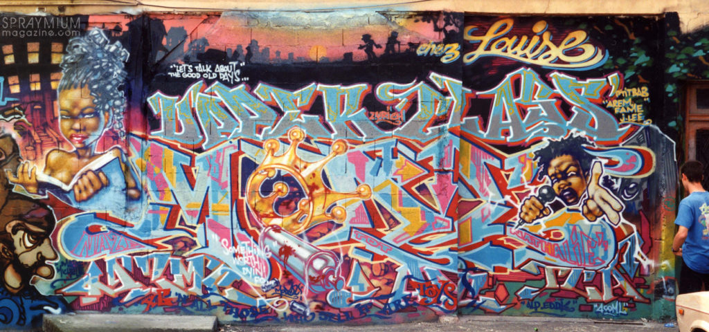 spraymium graffiti style writing subwayart aerosolart spraycanart urbanart comics mode2