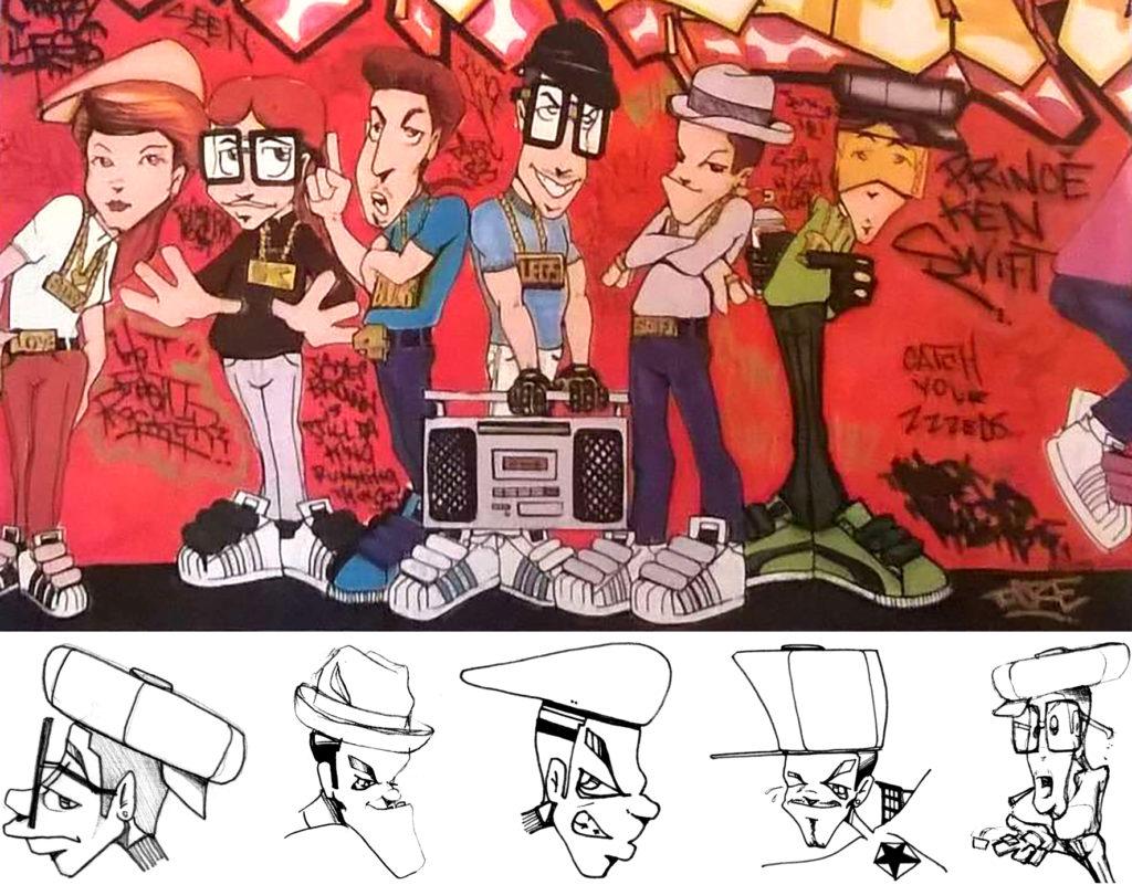 spraymium graffiti style writing subwayart aerosolart spraycanart urbanart comics doze bboy