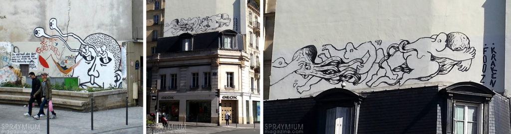spraymium graffiti style writing subwayart aerosolart spraycanart urbanart comics zoo project fooz kraken